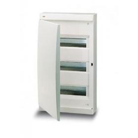 122460008 Бокс навесной 3*12 модулей(Unibox) с белой дверью IP41 с клеммным блоком