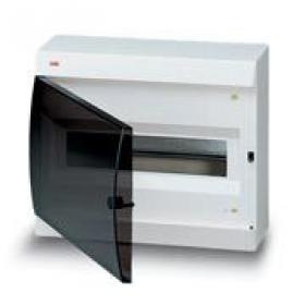 122620006 Бокс навесной 12 модулей(Unibox) с дымчатой дверью IP41 с клеммным блоком