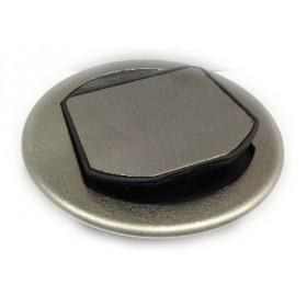 150560AC Лючок напольный на 1 механизм Bticino, СТАЛЬ
