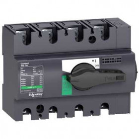 28912 Выключатель нагрузки(рубильник) Interpact Compact  INS160 3-полюса 160А с чёрной ручкой