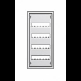AT41 Щит распределительный металический навесного монтажа 4*12 модулей 674х324х140мм, IP43