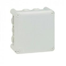 92032 Коробка распределительная Plexo IP55 открытого монтажа, 130х130х74мм, СЕРЫЙ