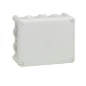 92042 Коробка распределительная Plexo IP55 открытого монтажа, 155х110х74мм, СЕРЫЙ