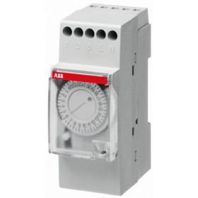 2CSM204125R0601 Реле времени модульное(AT2-7R) электромеханическое недельное с батареей 200ч 1НО/1НЗ