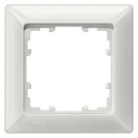 Рамка 1-ая Siemens Delta Line Белый 5TG25510 IP20