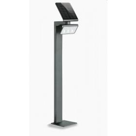 009830 XSolar GL-S Светильник светодиодный LED 3х0,5Вт с датчиком движения угол 140гр, Чёрный