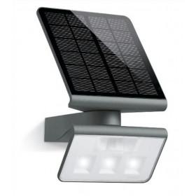009823 XSolar L-S Светильник светодиодный LED 3х0,5Вт с датчиком движения угол 140гр, Чёрный