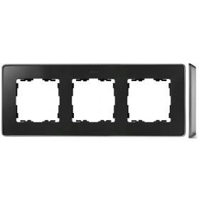 8201620-240 Рамка 3-ая Simon 82 Detail Select Графит-Основание Алюминий