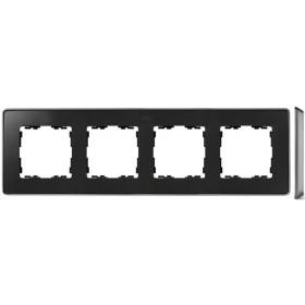 8201640-240 Рамка 4-ая Simon 82 Detail Select Графит-Основание Алюминий