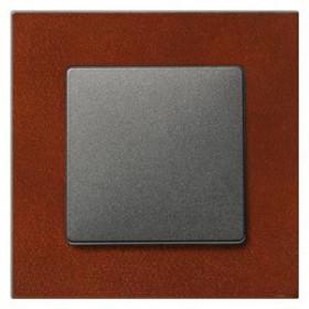 Рамка 1-ая Siemens Delta Miro Красный клен 5TG11012 IP20