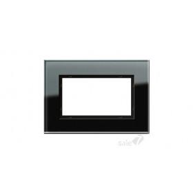 Рамка 1,5-ая Gira Esprit Стекло черное 100105 IP20