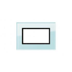 Рамка 1,5-ая Gira Esprit Стекло салатовое 100118 IP20