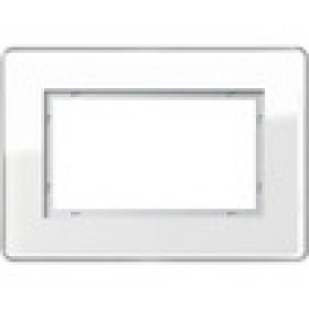 Рамка 1,5-ая Gira Esprit Glass C Белый 1001512 IP20