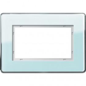 Рамка 1,5-ая Gira Esprit Glass C Стекло салатовое 1001518 IP20