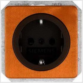 Розетка Siemens Delta Natur Вишня 5UB1674 IP20