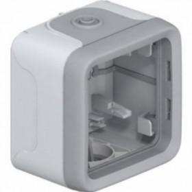 Коробка наружного монтажа 1-ая Legrand Plexo Серый 69651 IP55