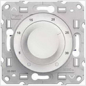 Термостат Schneider Electric Odace Белый S52R507 IP20 теплого пола