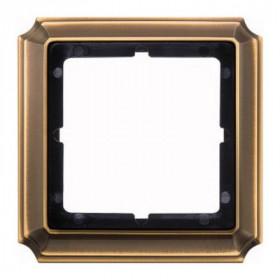 Рамка 1-ая Merten Antique Античная латунь MTN483143 IP20