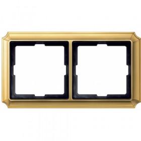 Рамка 2-ая Merten Antique Золото MTN483221 IP20