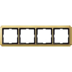Рамка 4-ая Merten Antique Золото MTN483421 IP20