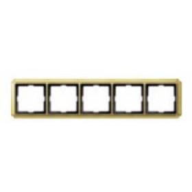 Рамка 5-ая Merten Antique Золото MTN483521 IP20