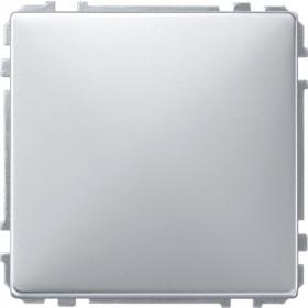 Заглушка Merten System Design Алюминий MTN391960