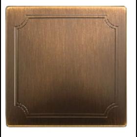 Накладка Merten System Design Античная латунь MTN573743