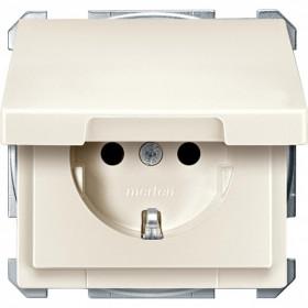 Розетка Merten System Design Бежевый MTN2414-4044 IP20
