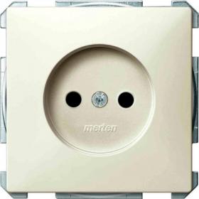 Розетка Merten System Design Бежевый MTN2000-4044 IP20