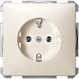 Розетка Merten System Design Бежевый MTN2401-4044 IP20