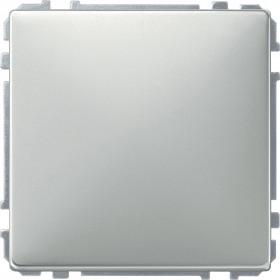 Заглушка Merten System Design Сталь MTN391946