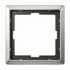 Рамка 1-ая Merten Artec Сталь MTN481146 IP20