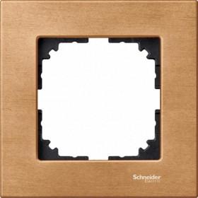 Рамка 1-ая Merten M-Elegance Бук MTN4051-3470 IP20