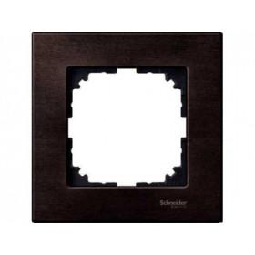 Рамка 1-ая Merten M-Elegance Орех MTN4051-3473 IP20