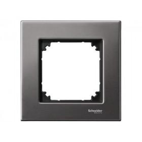 Рамка 1-ая Merten M-Elegance Серый родий MTN403114 IP20