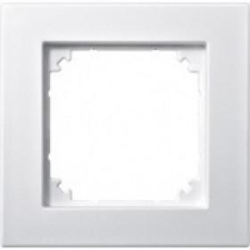 Рамка 1-ая Merten M-Plan Активный белый блестящий MTN515125 IP20
