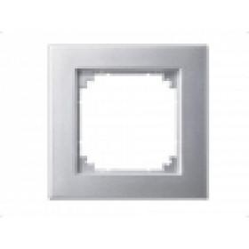 Рамка 1-ая Merten M-Plan Алюминий MTN486160 IP20