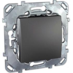Выключатель Schneider Electric Unica Графит MGU5.201.12ZD IP20 одноклавишный