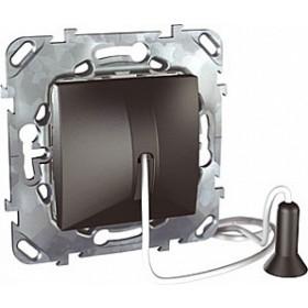 Выключатель Schneider Electric Unica Графит MGU5.226.12ZD IP20 без фиксации со шнуром