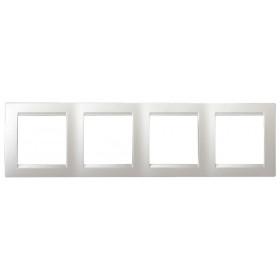 Рамка 4-ая Simon 15 Белый 1500640-030 IP20