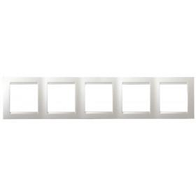 Рамка 5-ая Simon 15 Белый 1500650-030 IP20