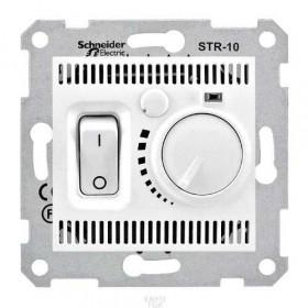 Термостат Schneider Electric Sedna Белый SDN6000121 IP20 комнатный