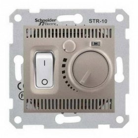 Термостат Schneider Electric Sedna Титан SDN6000168 IP20 комнатный