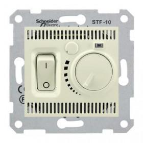 Термостат Schneider Electric Sedna Бежевый SDN6000347 IP20 теплого пола с датчиком