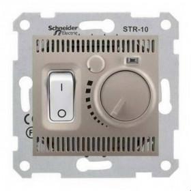 Термостат Schneider Electric Sedna Титан SDN6000368 IP20 теплого пола с датчиком