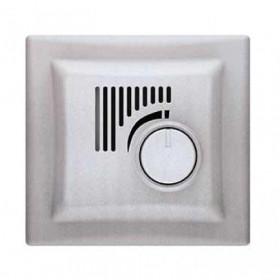 Термостат Schneider Electric Sedna Алюминий SDN6001160 IP20 комнатный с рамкой