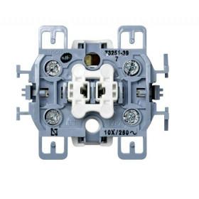 Механизм выключателя Simon 73 Loft 73251-39 IP20 одноклавишный с 3-х мест