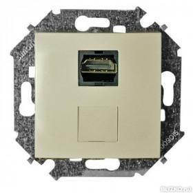 Розетка Simon 15 Слоновая кость 1591407-031 IP20 HDMI
