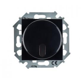 Диммер Simon 15 Черный 1591713-032 с управлением от ИК пульта проходной 500 Вт