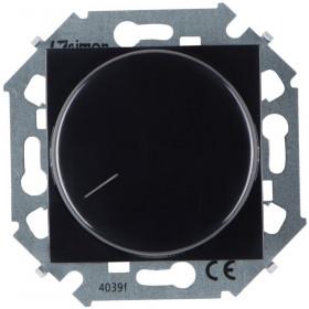Диммер Simon 15 Черный 1591796-032 поворотный для светодиодных диммируемых ламп 5-215 Вт